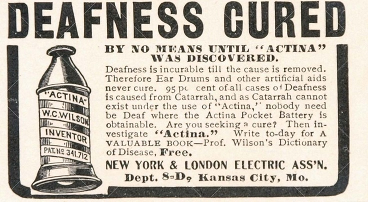 1904 ad for Actina