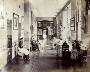 The female ward at Brookwood Asylum, 1881 (Surrey History Center)
